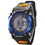 Children Round Dial Multifunction LED Digital Sports Wrist Watch 30m Waterproof (Assorted Colors) Cool Watches Unique Watches Fashion Watch
