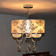 Modern Chic 3 Lights Pendant Pattern With Rose