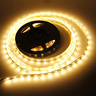 5M 90W 60x5730SMD 7000-8000LM 3000-3500K teplá bílá LED Strip Light (DC 12V)