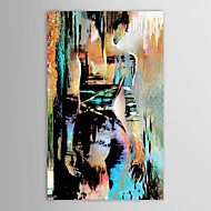 Hand-Painted PeopleModern One Panel Canvas Oil Painting For Home Decoration