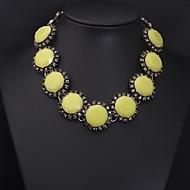 Women's Yellow Gem Diamond Necklace