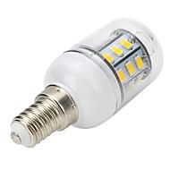4W E14 תאורת ספוט לד / נורות גלוב לד / נורות תירס לד T 27 SMD 5730 300-400 lm לבן חם AC 220-240 V