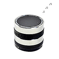High Quality Portable Super Bass Bluetooth Speaker with Mic Support TF -Green/Blue/Yellow/Silver/Purple