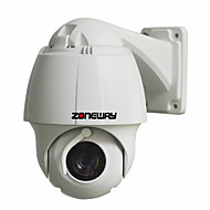 ZONEWAY® NC750M-P Outdoor Mini 1.3MP 960P IP High Speed Dome Camera with Wiper(10X Optical Zoom, Onvif, P2P)