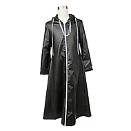 Kingdom Hearts Black Patent Leather Cosplay Robe