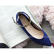 Women's Spring / Summer / Fall Closed Toe / Mary Jane / Pointed Toe Leatherette Office & Career / Dress / Casual / Party & EveningFlat