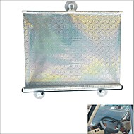 carking ™ versenkbare Fahrzeug Auto Fensterrollsonnensegel blinde Schutz mit Saugnäpfen (40 * 60)