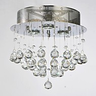 MAX 50W Flush Mount ,  Traditional/Classic Chrome Feature for Crystal MetalLiving Room / Bedroom / Dining Room / Study Room/Office /