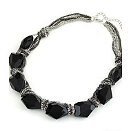 Fashion Temperament Short Metal Chain Necklace