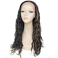 blonder foran parykk lang, høy kvalitet krøllete kvinnelige elegant mote syntetisk kjendis parykk