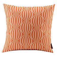 melancia laranja ligado algodão / linho capa almofadas decorativas