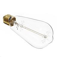 MLSLED Lâmpada Espiga E26/E27 60 W 360-420 LM 2700-3000 K Branco Quente 6 AC 220-240 V T
