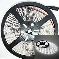 500 centimetri 38W luce 150LED 5050smd 1500-1800lm 6000-6500k DC12V IP68 striscia impermeabile bianco