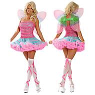 Sweet Butterfly Girl Pink Gorgeous Dress Women's Halloween Costume