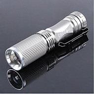 Lights LED Flashlights/Torch / Handheld Flashlights/Torch LED 600 Lumens 1 Mode Cree XR-E Q5 14500 / AAAdjustable Focus / Rechargeable /