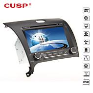 cuspide ® 8 pollici 2DIN auto lettore dvd nel cruscotto per kia cerato/k3/forte 2013 gps supporto, bt, rds, gioco, ipod