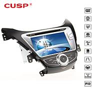 "CUSP® 8"" 2Din Car DVD Player for HYUNDAI ELANTRA/AVANTE /I35 2011-2013 Support GPS,with 1 Kudos TF Card"