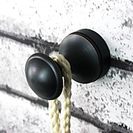 """Crochet à Peignoir / Bronze Huilé / Fixation MuraleLaiton /Antique /2.6cm(1"""") 2.6cm(1"""") 0.2kg"""