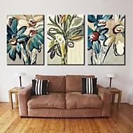 személyre szabott vászon print feszített vászon absztrakt virág 28x40cm 40x60cm galéria csomagolt art sor 3