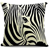 modern zebra rand bomull / linne dekorativa örngott