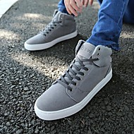 Men's Shoes Casual Canvas Fashion Sneakers Black / Brown / Yellow / Green / Red / Gray