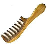 High Quality Natual 18X5cm Green Sandalwood Wooden Comb