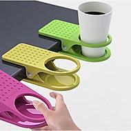 mesa de cozinha grande clipe tabela titular criativo copo clipe de vidro de mesa (cor aleatória) 3-pcs
