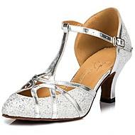 van vrouwen sprankelende glitter bovenste pailletten balzaal samba schoenen sandalen (meer kleuren)