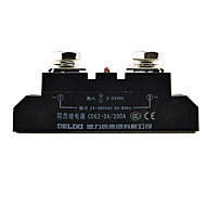 enfaset SSR solid state relæ 300A DC-AC kontaktløs relæ Delixi elektrisk CDG2-da300a