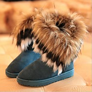 Women's Shoes Snow Boots Flat Heel Ankle Boots with Tassel More Colors available