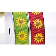 팔분의 삼 인치 할로윈 시리즈 마법 해바라기 패턴 리브 리본 인쇄 (더 많은 색상) 롤 당 25야드을 ribbon-