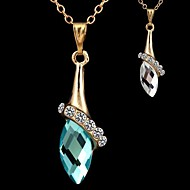 Women's Alloy Necklace Gift/Daily Crystal
