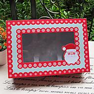 Kuchenverpackung und Boxen ( Rot , Kartonpapier ) - Nicht personalisiert
