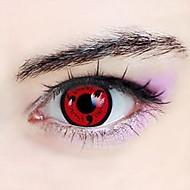 Naruto Kakashi Hatake Sharingan Cosplay Contact Lenses(1 Pair)