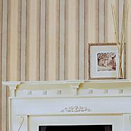 Wall Paper Wallcovering, Modern Style Stripe PVC Wall Paper