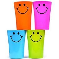 multi-fonctions en plastique visage souriant brosse à dents tasse 360ml (couleur aléatoire)