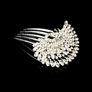 Gorgeous Rhinestone In Alloy Bridal Hair Combs