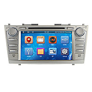8inch 2 DIN no painel do carro DVD Player para 2007-2011 Toyota Camry com GPS, BT, IPOD, RDS, FM, tela de toque