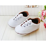 Boy's Flats Spring / Fall / Winter First Walkers / Crib Shoes Leatherette Outdoor / Casual / Athletic / Party & Evening Flat HeelSplit