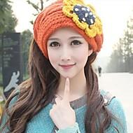 Women Wool Blend Beanie/Slouchy , Cute Winter