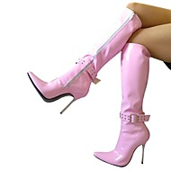 Women's Shoes Sexy Pointed Toe Stiletto Heel Knee High Boots More colors available
