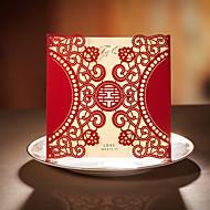 Symmetric Semicircle Design Wedding Invitation-Set Of 20/50