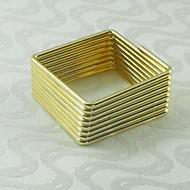 12 Glass Napkin Ring