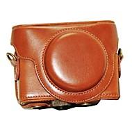 dengpin® ochranné kožené pouzdro pro fotoaparát pouzdro taška kryt s ramenním popruhem pro Sony DSC-rx100m iii RX100 ii RX100