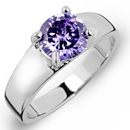Ring Women's / Children's / Ladies' / Women Cubic Zirconia Cubic Zirconia Cubic Zirconia 7 / 8 SilverColor & Style representation may