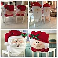 2ks / set mr&paní Santa Claus kuchyňský stůl židle se vztahuje na 72 * 44 cm 52 * 43 cm