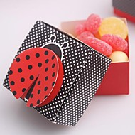 """Ladybug"" Favor Box(Set of 12)"