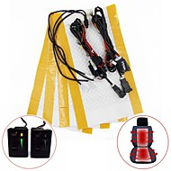 5-standen schakelaar koolstofvezel stoelverwarming kit voor toyota corolla prado rav4 reiz yaris etc (tweezits installeren)