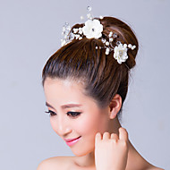 Women's Alloy/Cubic Zirconia/Fabric Headpiece - Wedding/Special Occasion Flowers/Wreaths