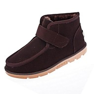 Men's Shoes Outdoor Faux Suede Boots Black/Brown/Yellow
